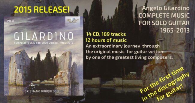 [BOOK NOW!]http://www.cristianoporqueddu.com/discography/angelo-gilardino-complete-music-for-solo-guitar-1965-2013/