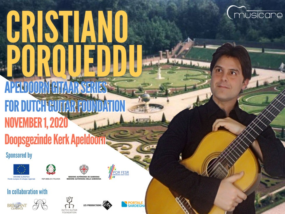 Concerto per la Dutch Guitar Foundation | Cristiano Porqueddu